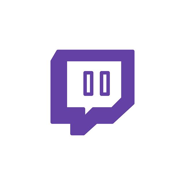 Twitch Logo lila